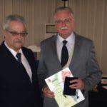 Sergio Laux, Premiado com Ouro Grande mais Premio da Classe Selos Fiscais, um dos quatro expositores a expor em 1966 e 2016. Recebeu placa comemorativa ao fato