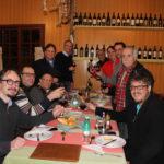 Jantar festivo com a nova diretoria 2016-2018